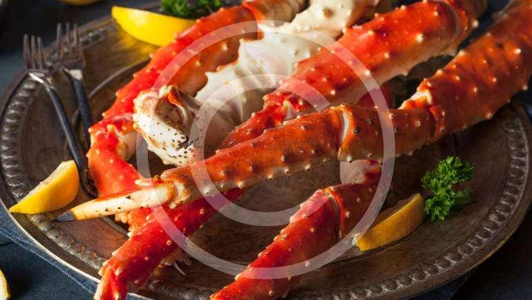 Ravioli with Crab Sauce